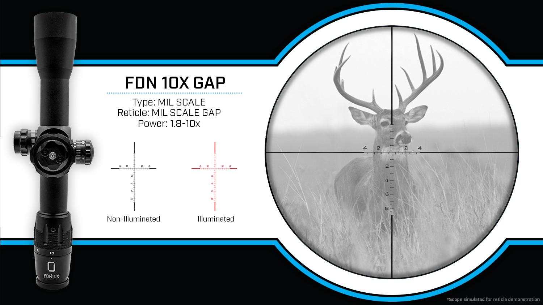 FDN10X-GAP